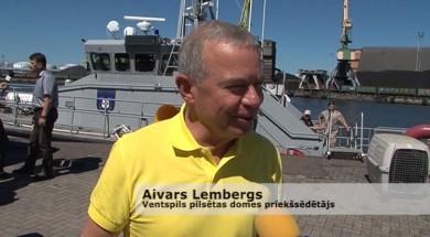 Pie Ventspils jūrā izlaiž roņūs no Rīgas ZOO