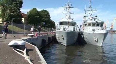 Ventspilī piestāj NATO kuģi