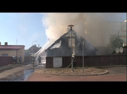 Пожароопасная обстановка в Вентспилсе.