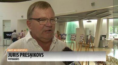 "Jura Presņikova izstāde ""Mana Ventspils"""