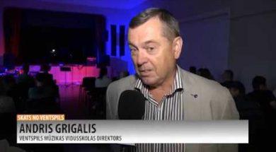 """""""Ventspils Groove"""" ieskandina pilsētu"""