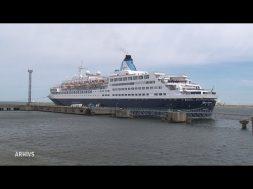 Ventspilī viesojas kruīza kuģi