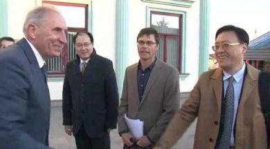 Pudongas jaunā rajona delegācija viesojas Ventspilī