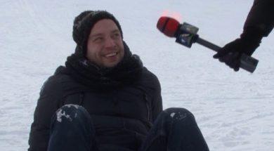 """slēpošanas kalns """"Lemberga hūte"""" uzsāk sezonu"""