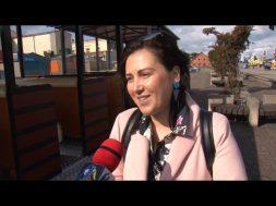 """Tūristu autovilcieniņā """"Ventspils Train"""" tagad dzirdams audiogids"""