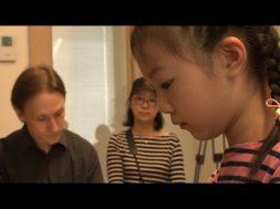 """jaunie pianisti attīsta savas spējas meistarkursos """"Ventspils Piano 2019"""""""