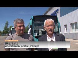 Ventspils Reisam jauns hibrīdautobuss.
