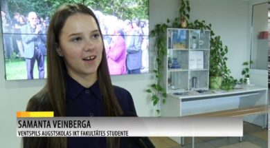 Pasniedz Ventspils domes stipendijas 10 labākajiem ITF studentiem.