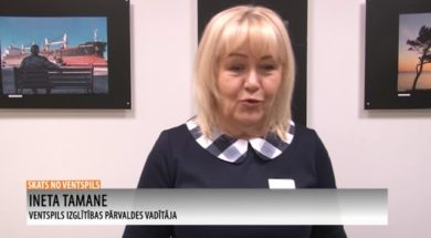 Skats no Ventspils 10.12.2020