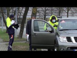 CSDD un policija veic kontroles reidus Ventspilī uz ielām
