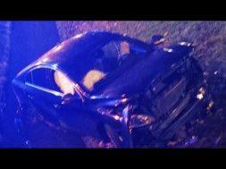 autovadītājs nonāk Ventspils Reņķa dārza grāvī