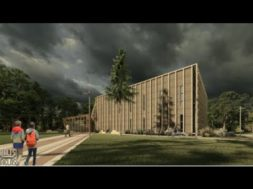 Ventspilī top jaunā Piejūras brīvdabas muzeja ēka